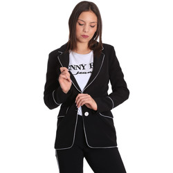 Textiel Dames Jasjes / Blazers Denny Rose 811DD30004 Zwart