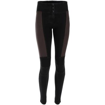 Textiel Dames Broeken / Pantalons Freddy WRUP1MF009 Zwart