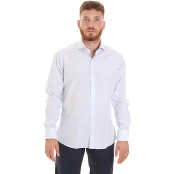 Textiel Heren Overhemden lange mouwen Les Copains 20P.922 P3196SL Wit