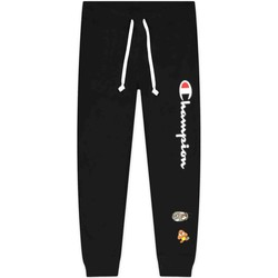 Textiel Dames Broeken / Pantalons Champion 216870 Zwart