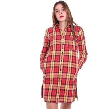 Textiel Dames Overhemden Dickies DK0A4X6GFR01 Rood