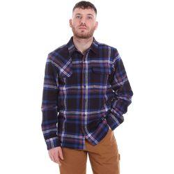Textiel Heren Overhemden lange mouwen Dickies DK520352EL01 Blauw
