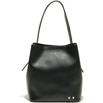 Tassen Dames Handtassen lang hengsel Atelier Enai JAMIE NOIR