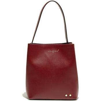 Tassen Dames Handtassen lang hengsel Atelier Enai JAMIE BORDEAUX