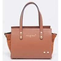 Tassen Dames Handtassen kort hengsel Atelier Enai MINI CANDI CAMEL