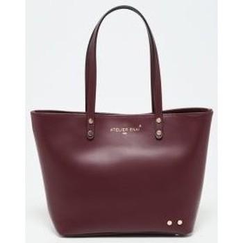 Tassen Dames Handtassen lang hengsel Atelier Enai MINI MILA BORDEAUX