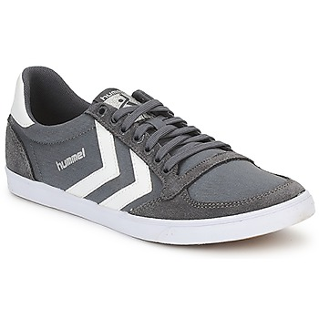 Schoenen Lage sneakers Hummel TEN STAR LOW CANVAS Grijs / Wit