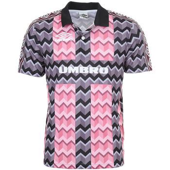 Textiel Heren Polo's korte mouwen Umbro  Roze