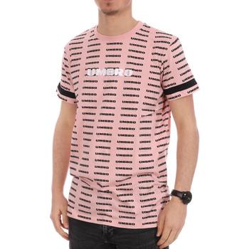 Textiel Heren T-shirts korte mouwen Umbro  Roze