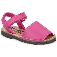 Schoenen Meisjes Sandalen / Open schoenen Citrouille et Compagnie BERLA  fuchsia