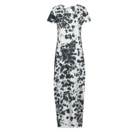 Textiel Dames Lange jurken Yurban OVIZ Grijs / Wit