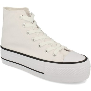 Schoenen Dames Hoge sneakers Tony.p ABX012 Blanco
