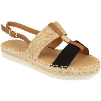 Schoenen Dames Sandalen / Open schoenen Buonarotti 1FB-1075 Negro