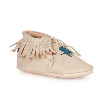 Schoenen Kinderen Sloffen Easy Peasy MEXIMOO Beige