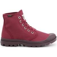 Schoenen Dames Hoge sneakers Palladium Manufacture Pampa HI Oryginale Cerise