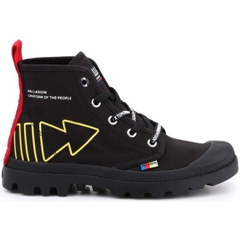Schoenen Dames Hoge sneakers Palladium Manufacture Pampa Dare PC U Noir