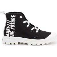 Schoenen Dames Lage sneakers Palladium Manufacture Pampa HI Future Blanc, Noir