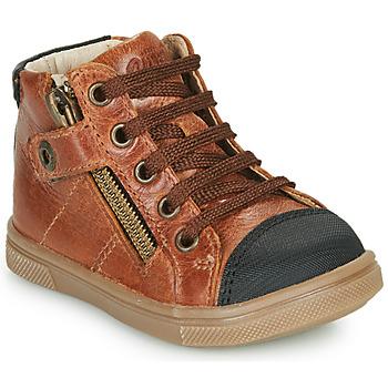 Schoenen Jongens Hoge sneakers GBB KAMIL Brown