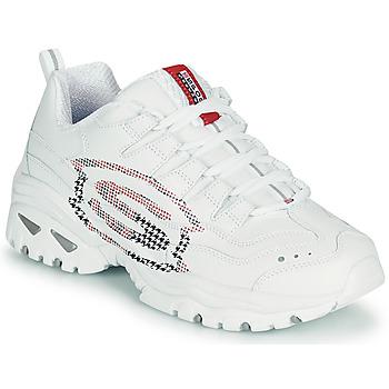 Schoenen Dames Lage sneakers Skechers ENERGY/SKY VISION Wit