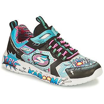 Schoenen Meisjes Lage sneakers Skechers DYNAMIGHT/HERO STATUS Multicolour