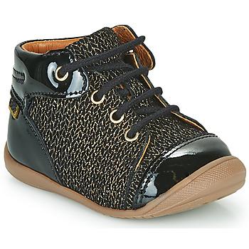 Schoenen Meisjes Hoge sneakers GBB OLSA Zwart