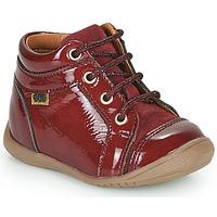 Schoenen Meisjes Hoge sneakers GBB OMANE Bordeaux