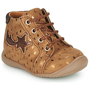 Schoenen Meisjes Hoge sneakers GBB POMME Brown