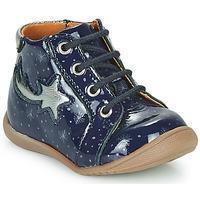 Schoenen Meisjes Hoge sneakers GBB POMME Blauw