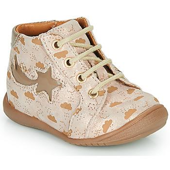 Schoenen Meisjes Hoge sneakers GBB POMME Beige