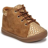 Schoenen Meisjes Hoge sneakers GBB NAHIA Brown