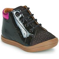Schoenen Meisjes Hoge sneakers GBB NAHIA Zwart