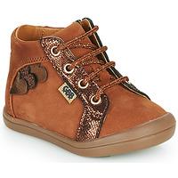Schoenen Meisjes Hoge sneakers GBB PRUNE Brown