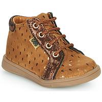 Schoenen Meisjes Hoge sneakers GBB FAMIA Brown