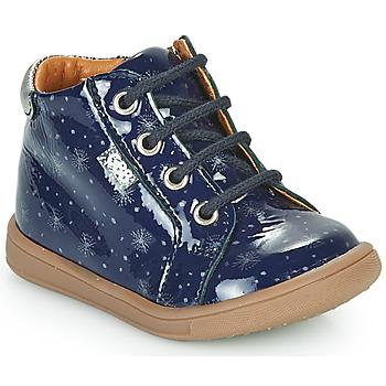 Schoenen Meisjes Hoge sneakers GBB FAMIA Blauw