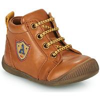 Schoenen Jongens Hoge sneakers GBB EDWIN Brown
