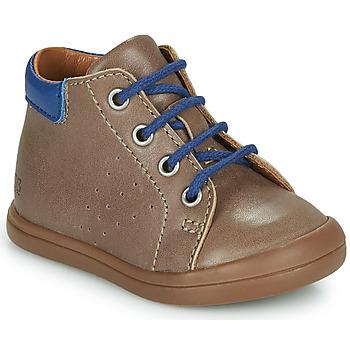 Schoenen Jongens Hoge sneakers GBB TIDO Brown