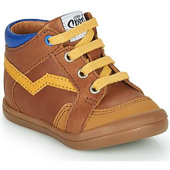 Schoenen Jongens Hoge sneakers GBB ASTORY Brown