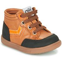 Schoenen Jongens Hoge sneakers GBB VIGO Brown