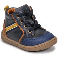 Schoenen Jongens Hoge sneakers GBB GERMAIN Blauw