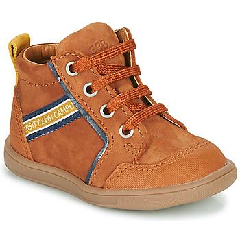 Schoenen Jongens Hoge sneakers GBB GERMAIN Brown