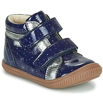 Schoenen Meisjes Hoge sneakers GBB EDEA Blauw
