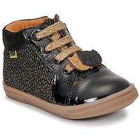 Schoenen Meisjes Hoge sneakers GBB CHOUBY Zwart