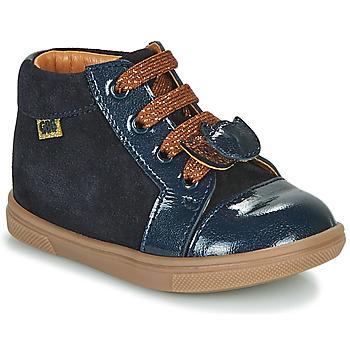 Schoenen Meisjes Hoge sneakers GBB CHOUBY Blauw