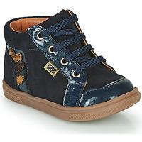 Schoenen Meisjes Hoge sneakers GBB TERRA Blauw