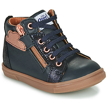 Schoenen Meisjes Hoge sneakers GBB VALA Blauw