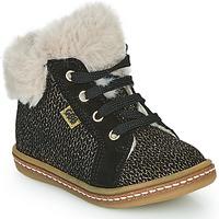Schoenen Meisjes Hoge sneakers GBB JUNA Zwart