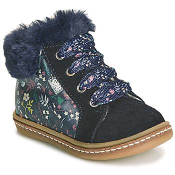 Schoenen Meisjes Hoge sneakers GBB JUNA Blauw