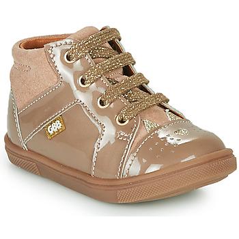 Schoenen Meisjes Hoge sneakers GBB THEANA Beige