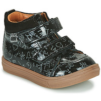 Schoenen Meisjes Hoge sneakers GBB DOMENA Zwart