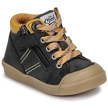 Schoenen Jongens Hoge sneakers GBB ANATOLE Zwart